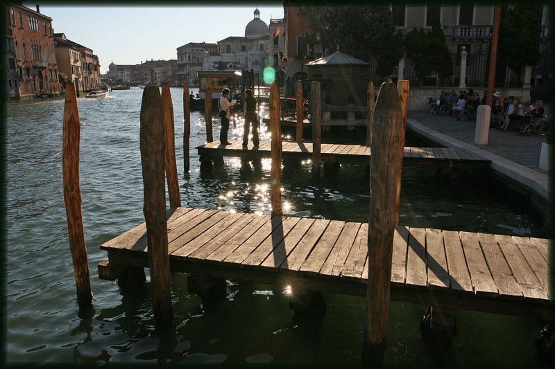 Steg am Canale Grande