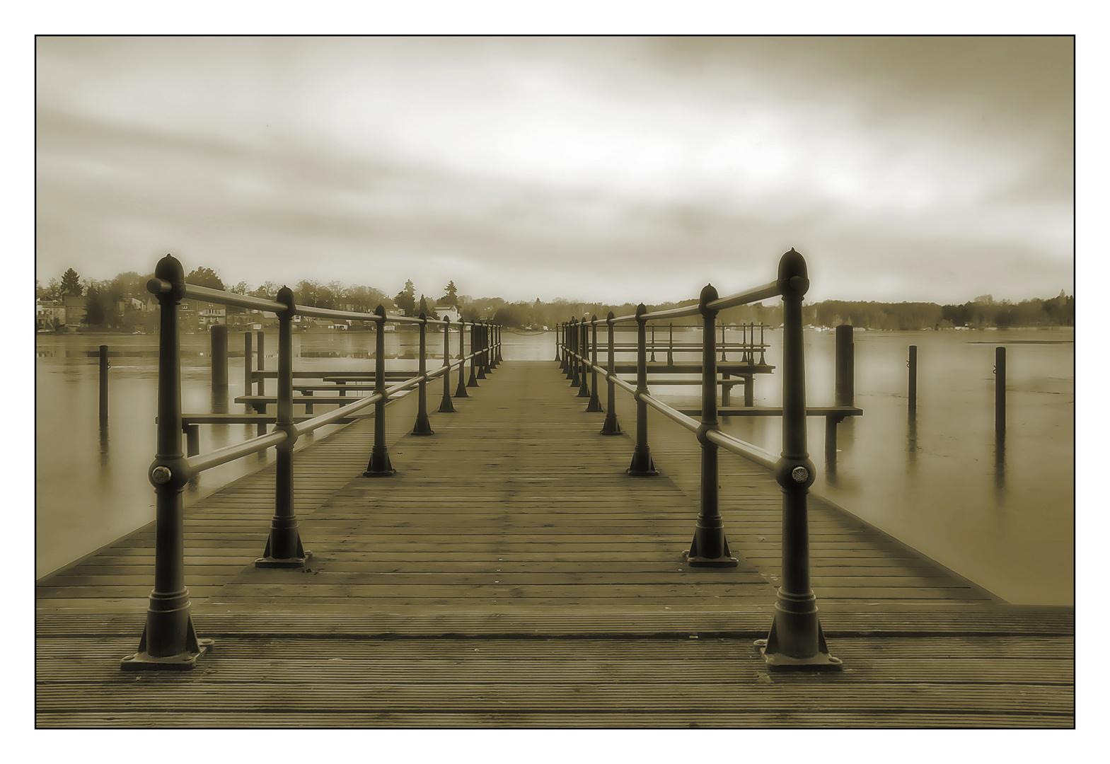 Steg am Kalksee