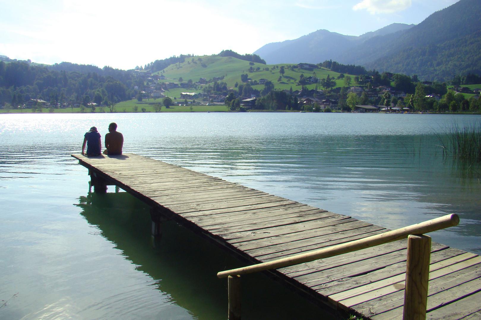 Steg am Thiersee in Tirol