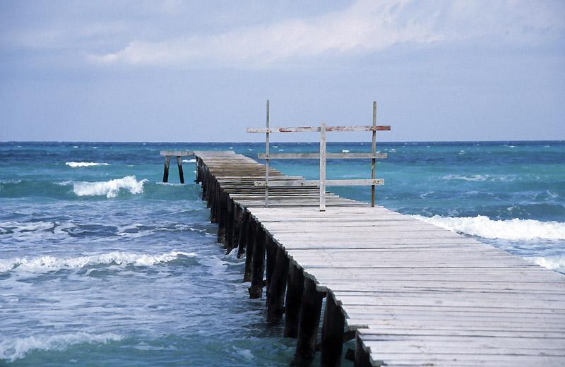 Steg an der Bucht von Alcudia