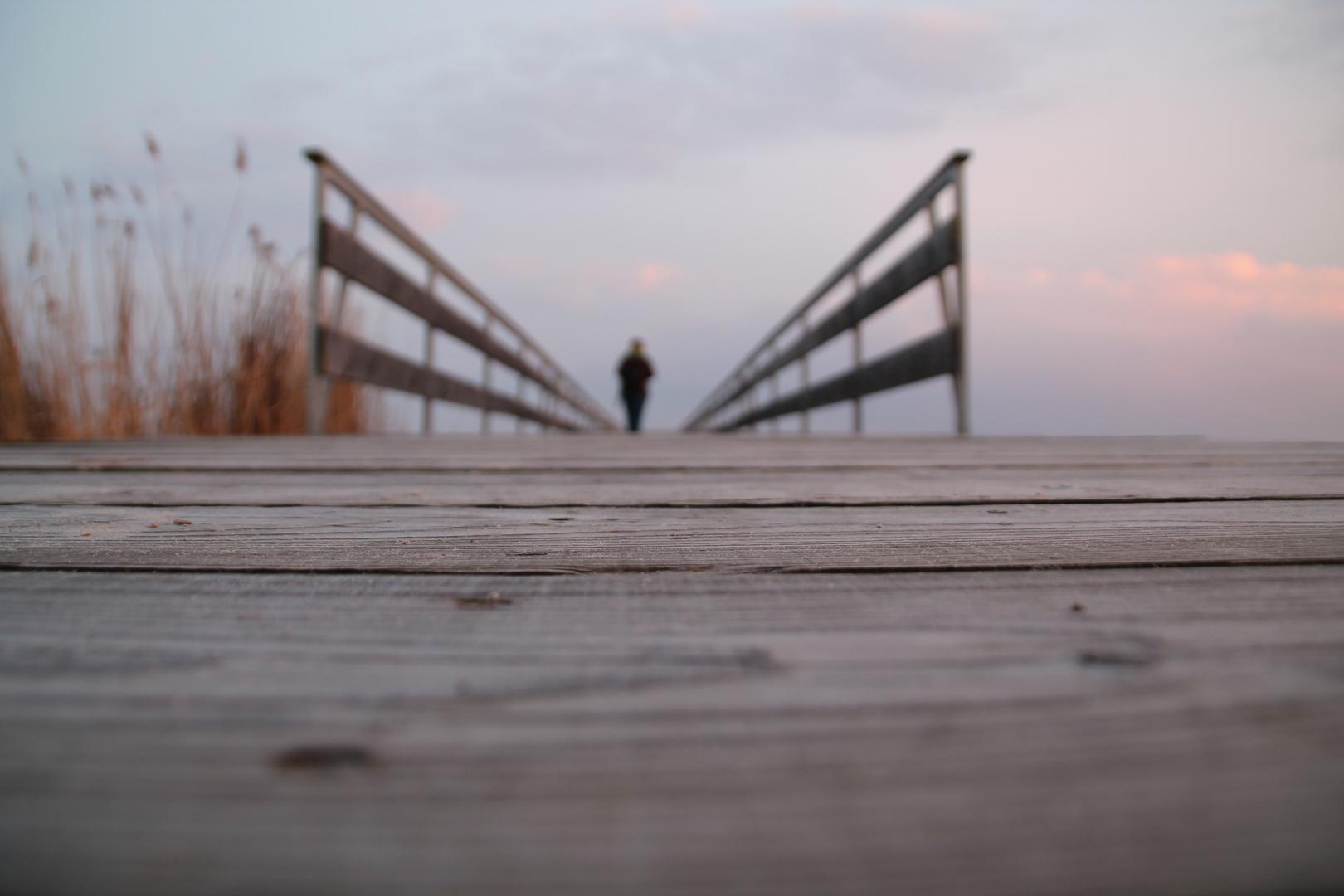Steg an der Ostsee