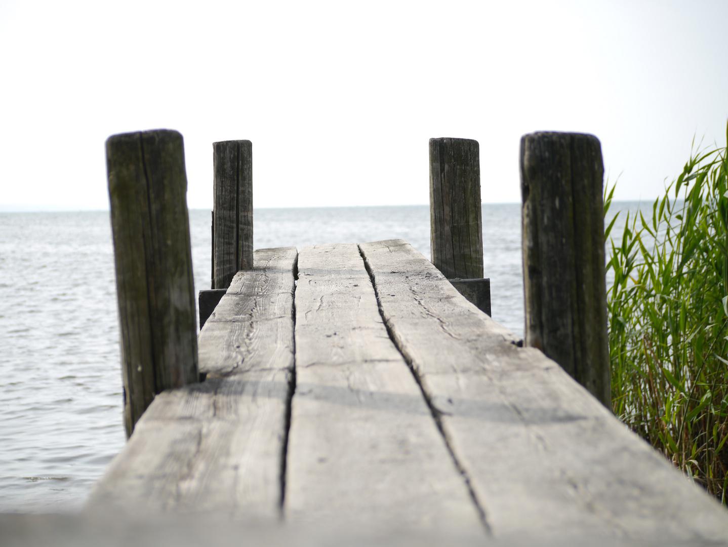 Steg im See