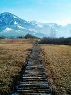 Steg zum Berg...
