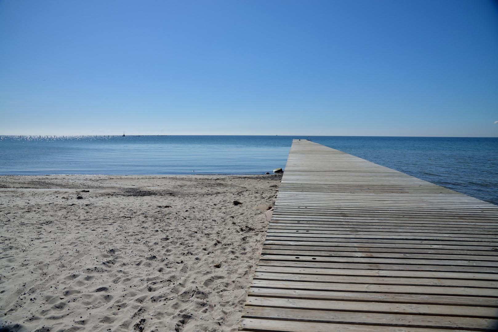 Steg zur Ostsee