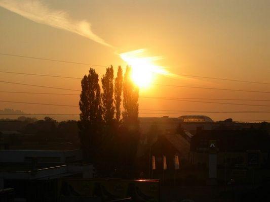 steh auf und lass die Sonne in dein Herz