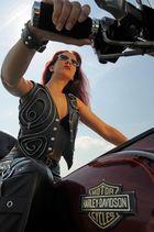 Steht mir die Harley nicht gut. ;o)