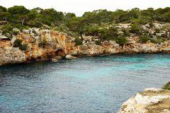 Steilbucht in Mallorca