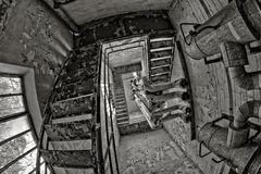steile Stufen...
