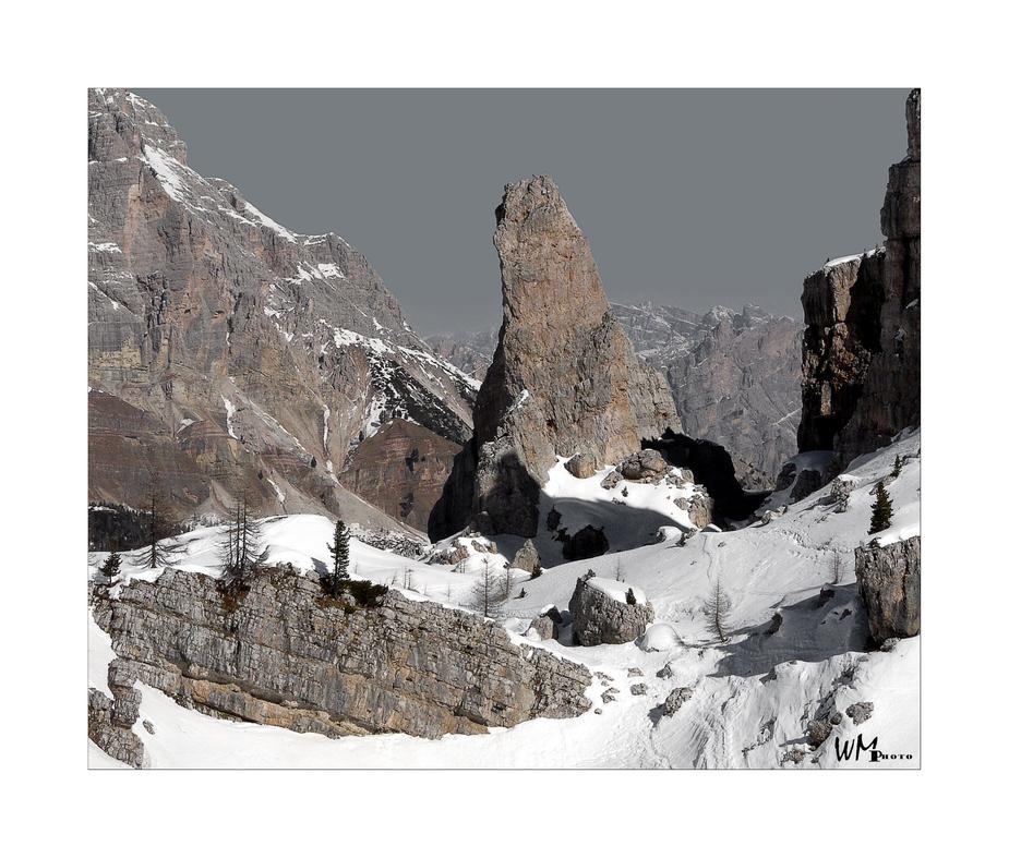 Steiler Zahn - Dolomiten