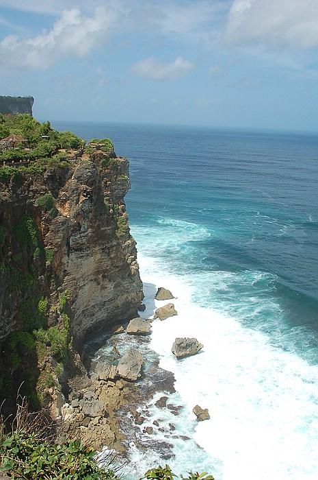 Steilküste am Uluwatu Tempel