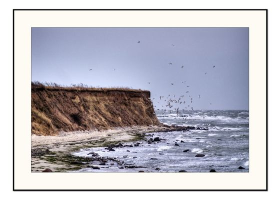 Steilküste auf Fehmarn