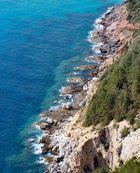 Steilküste bei Alanya