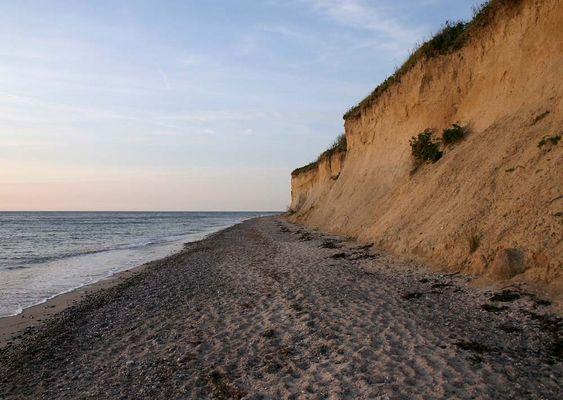 Steilküste bei Wustrow (Ostsee)