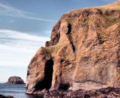 Steilküste der Insel Heimaey