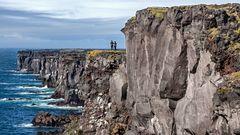 Steilküste Halbinsel Snaefellsnes
