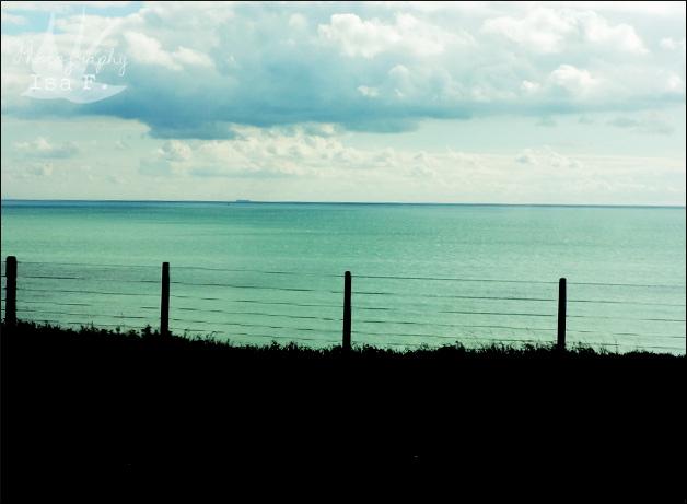 Steilküste im Süden Englands