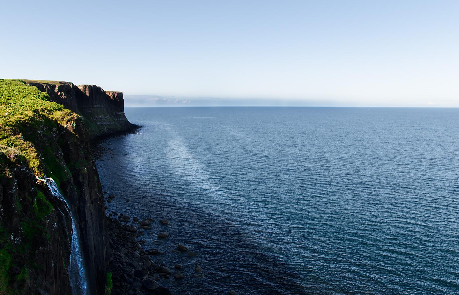Steilküste in der Nähe von Kilt Rock