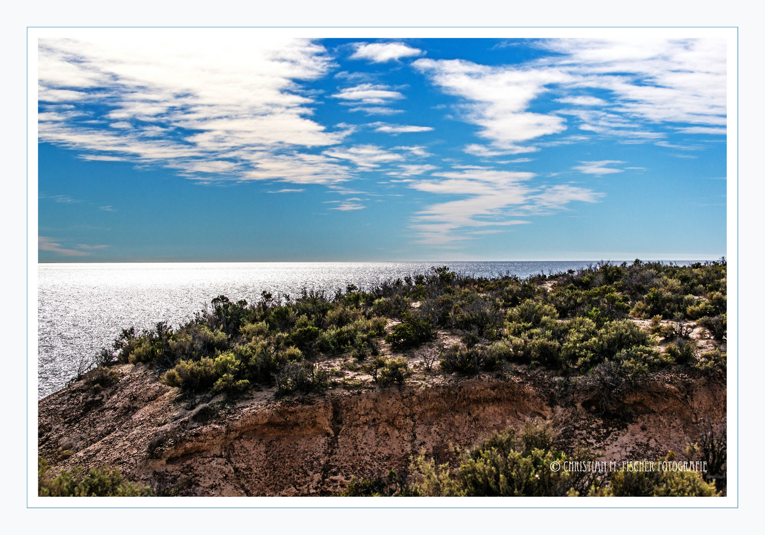 Steilküste nahe Puerto Madrin