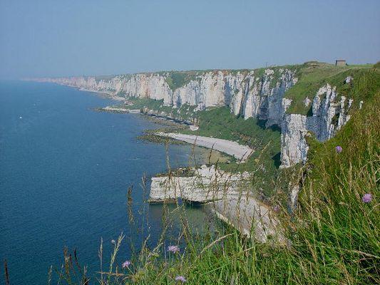 Steilküste, Normandie