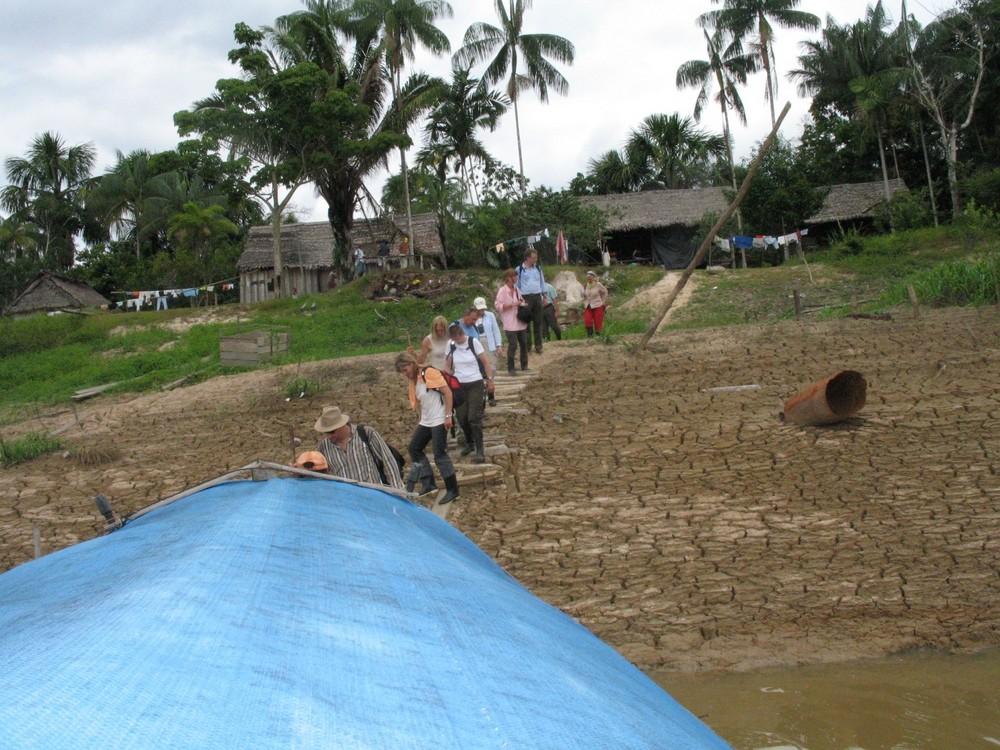 Steilufer am Javari River