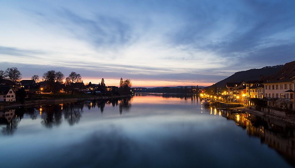 Stein am Rhein Abendstimmung
