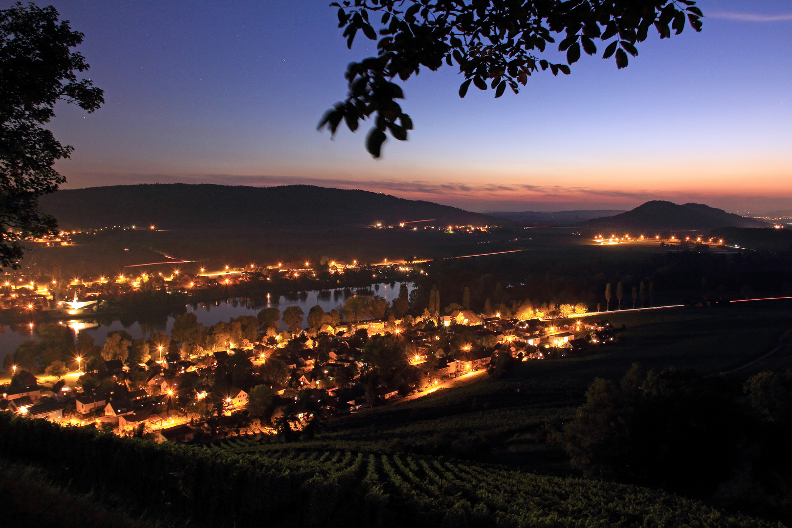 Stein am Rhein am Abend