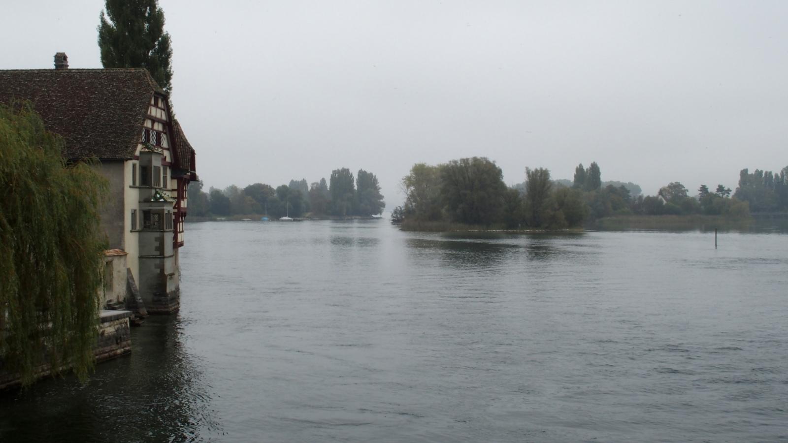 Stein am Rhein (im Hintergrund der Bodensee)