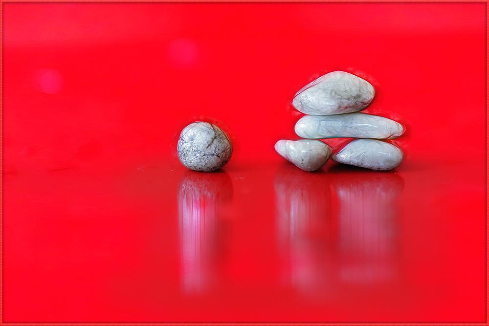 stein auf stein ...