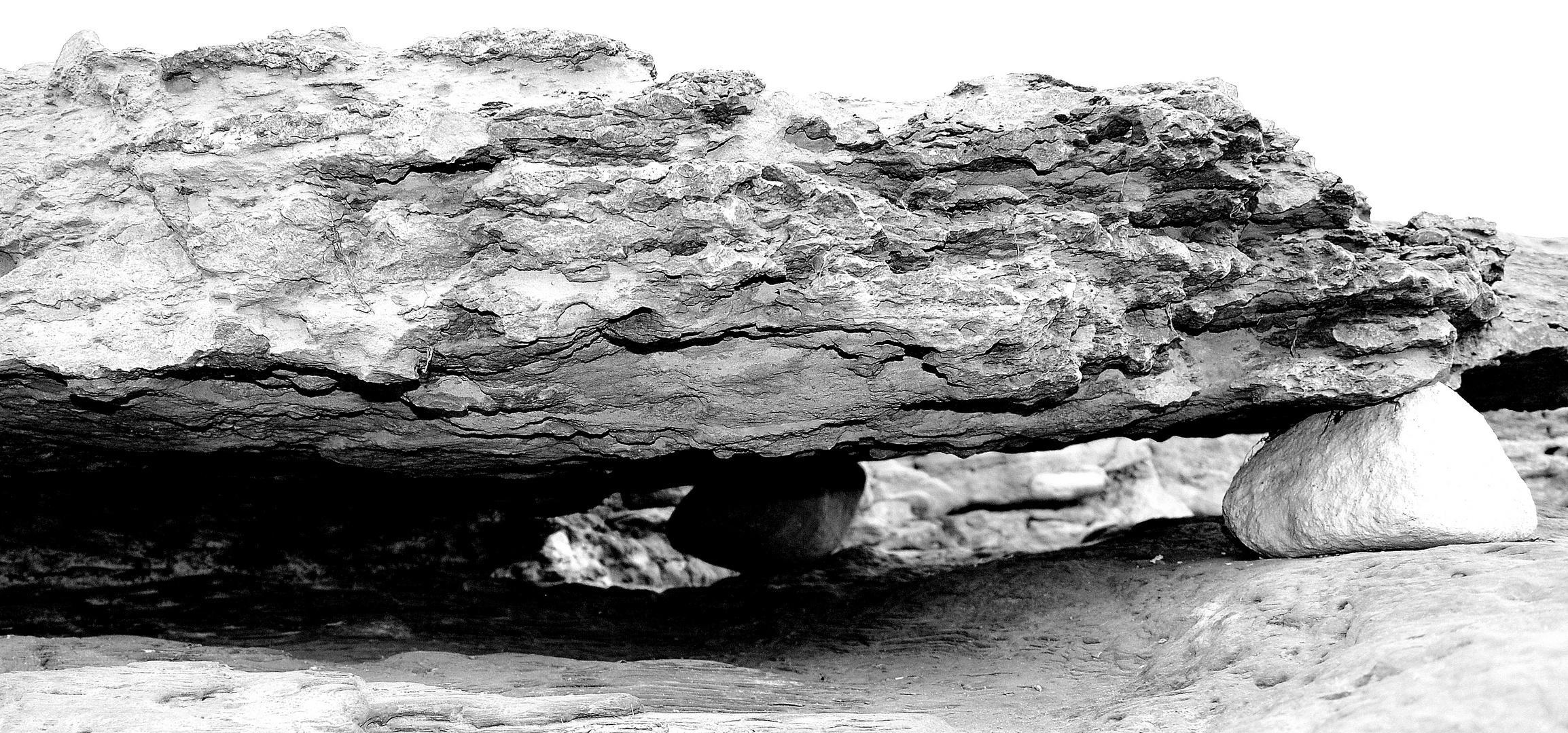 Stein in der Algarve