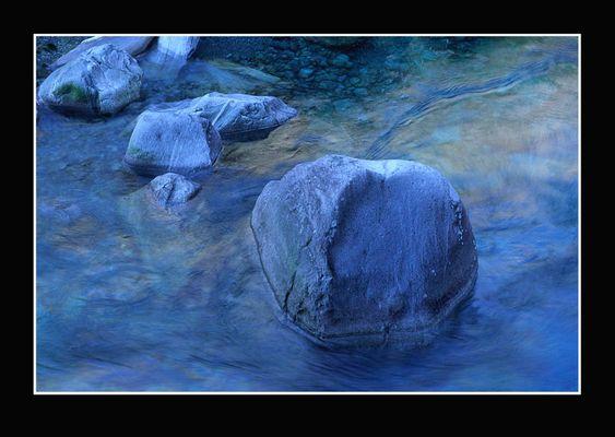 Stein in der Verzasca, Tessin