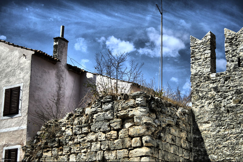 Steinbau in Novigrad