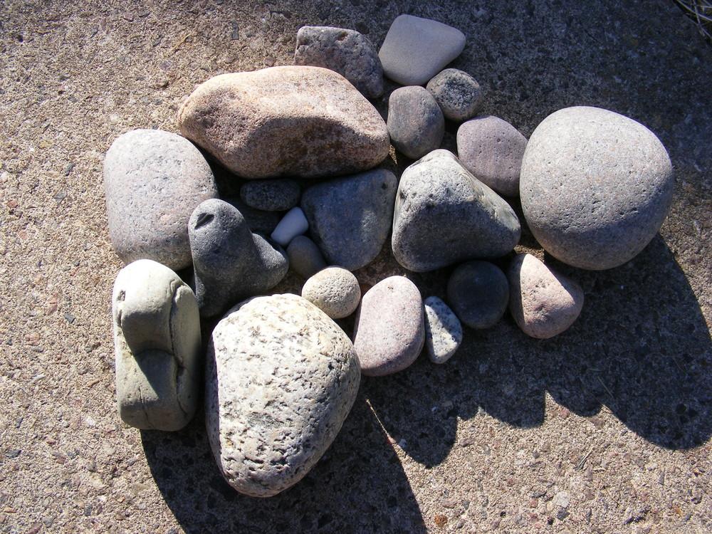 Steinbilder Reihe 08 -Haufen 2+