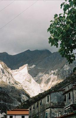 Steinbruch bei Colonnata