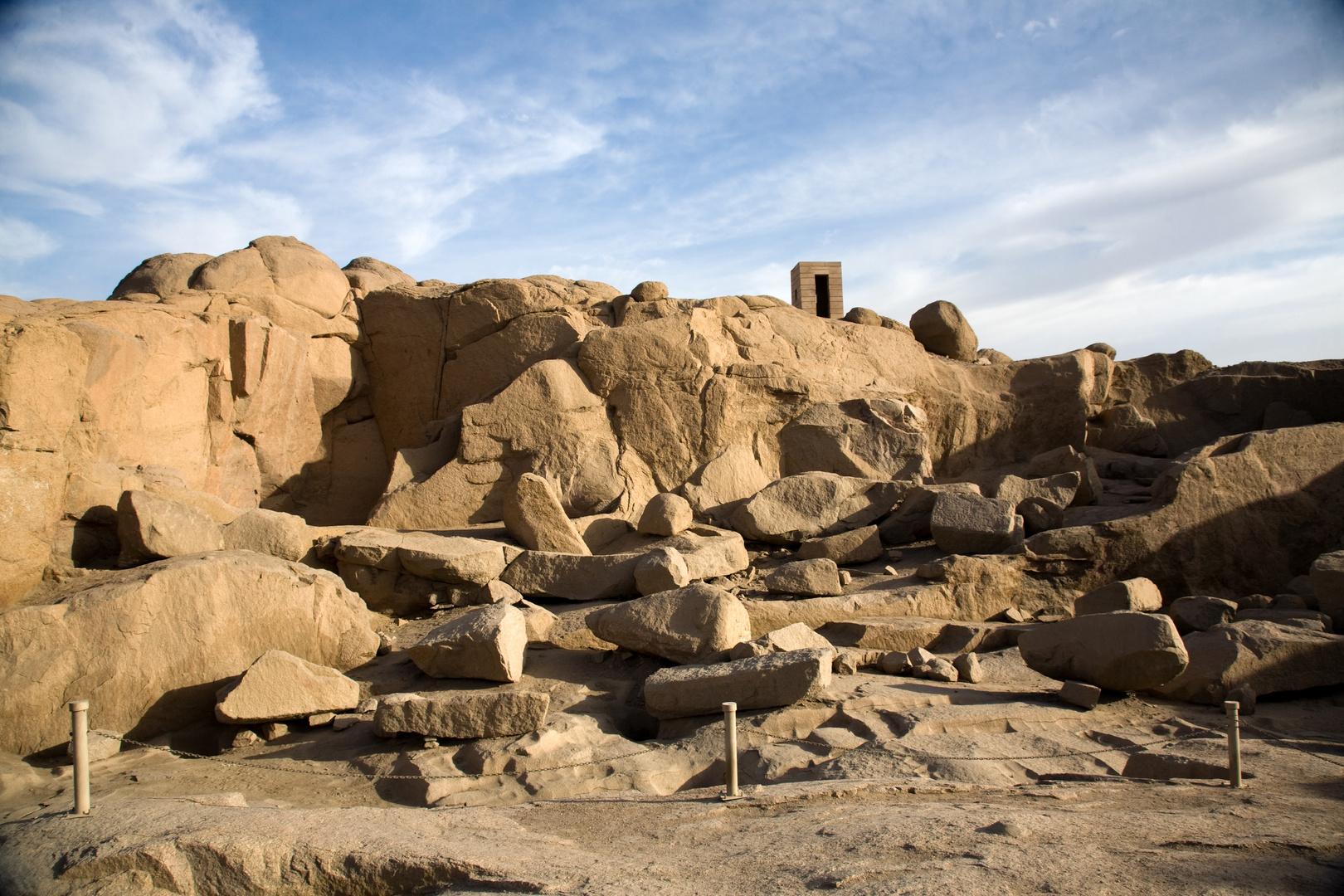 Steinbruch in Assuan