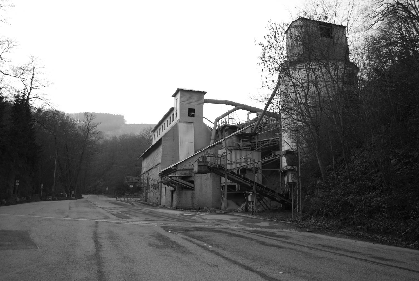 Steinbruch in Hagen-Ambrock