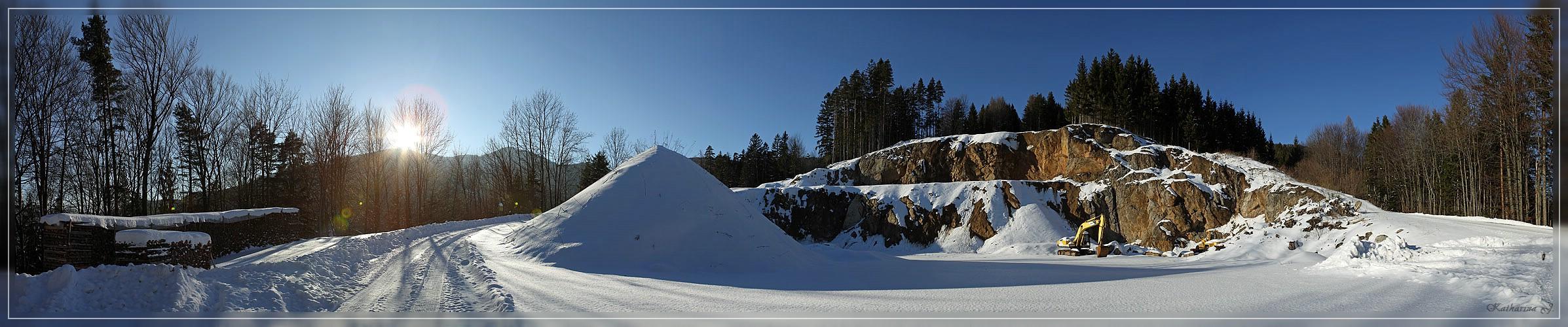 Steinbruch - Reisalpe (NÖ)