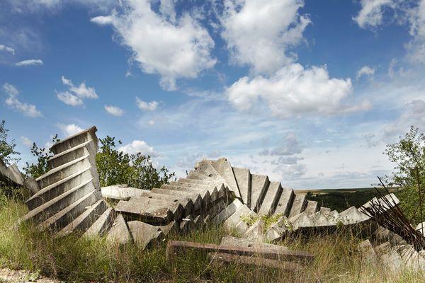 Steinbruch Treppe