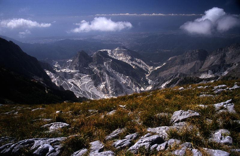Steinbrüche von Carrara