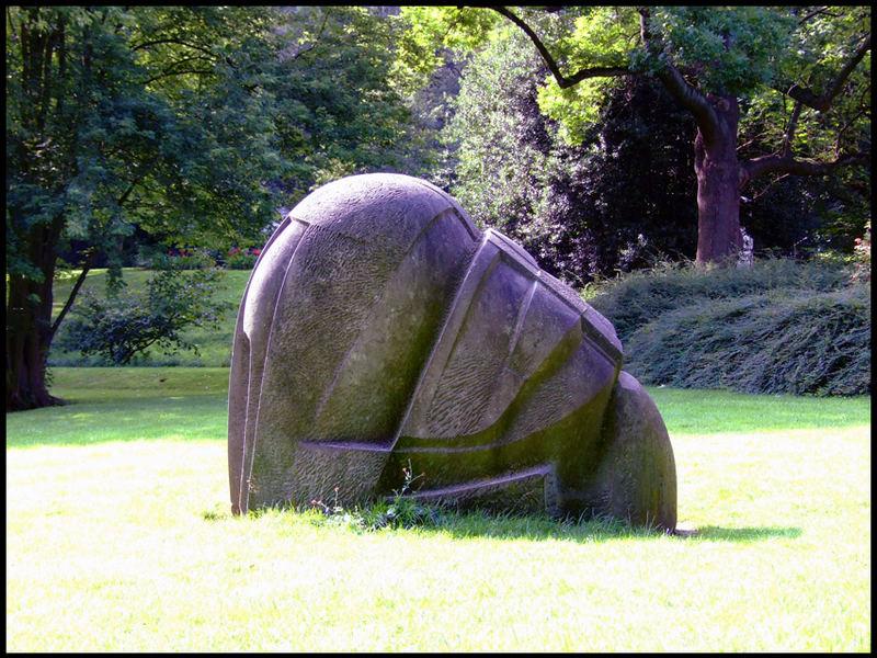 Steinchen auf der Wiese