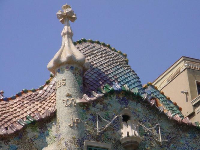 Steindetail; Gaudi Art