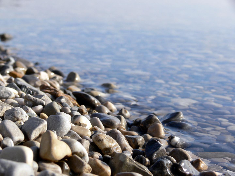 Steine am Ammersee