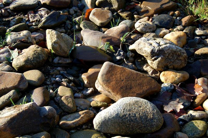 Steine am Fluss 2