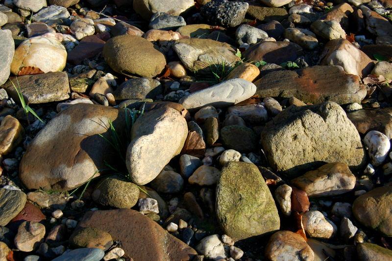 Steine am Fluss 3