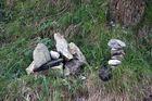 Steine auf dem Wanderpfad