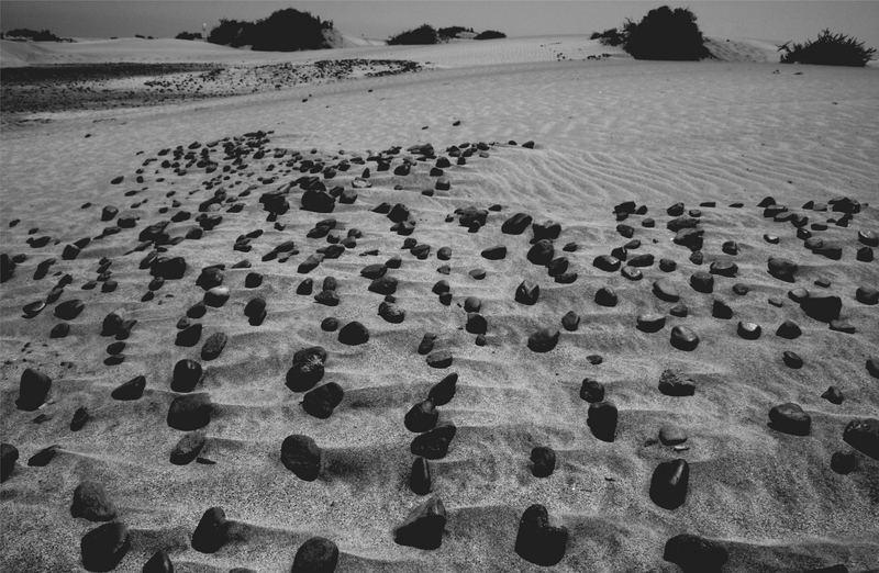 Steine in Maspalomas
