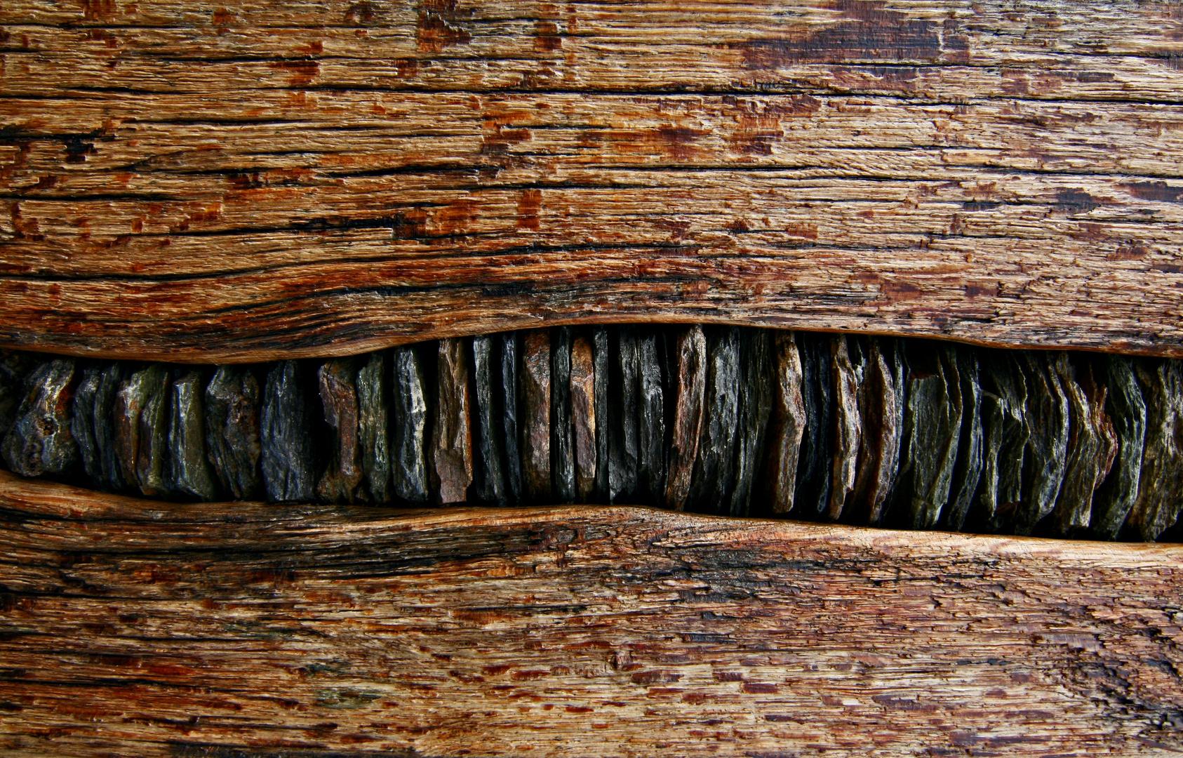 Steine und Holz II