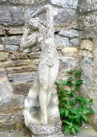 steinerne Lady