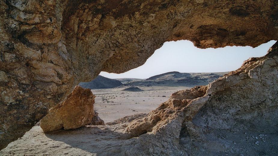 steinerner Durchblick