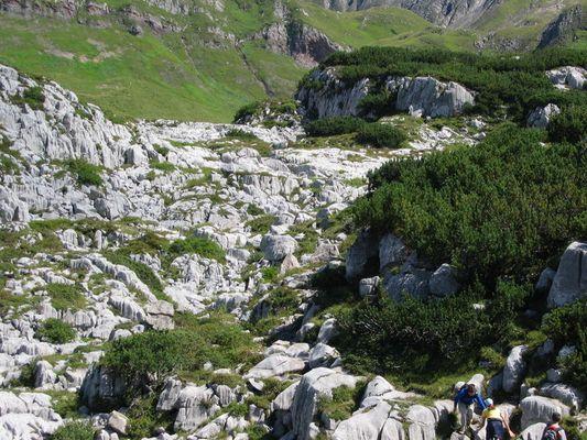 Steinernes Meer bei Lech (Vorarlberg)