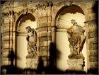 Steinfiguren im Zwinger zu Dresden
